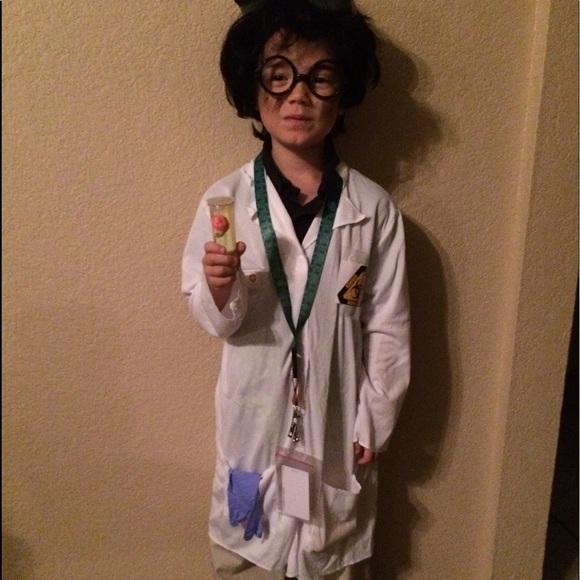 Homemade Bad Scientist Costume